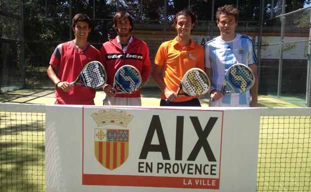Tournoi international de padel  : Aix reste française