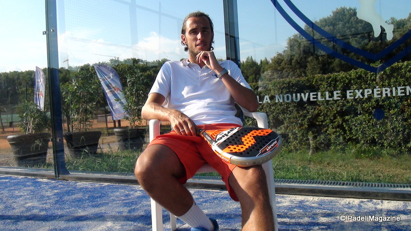 Interview de Robin Haziza : Le Real Padel Club