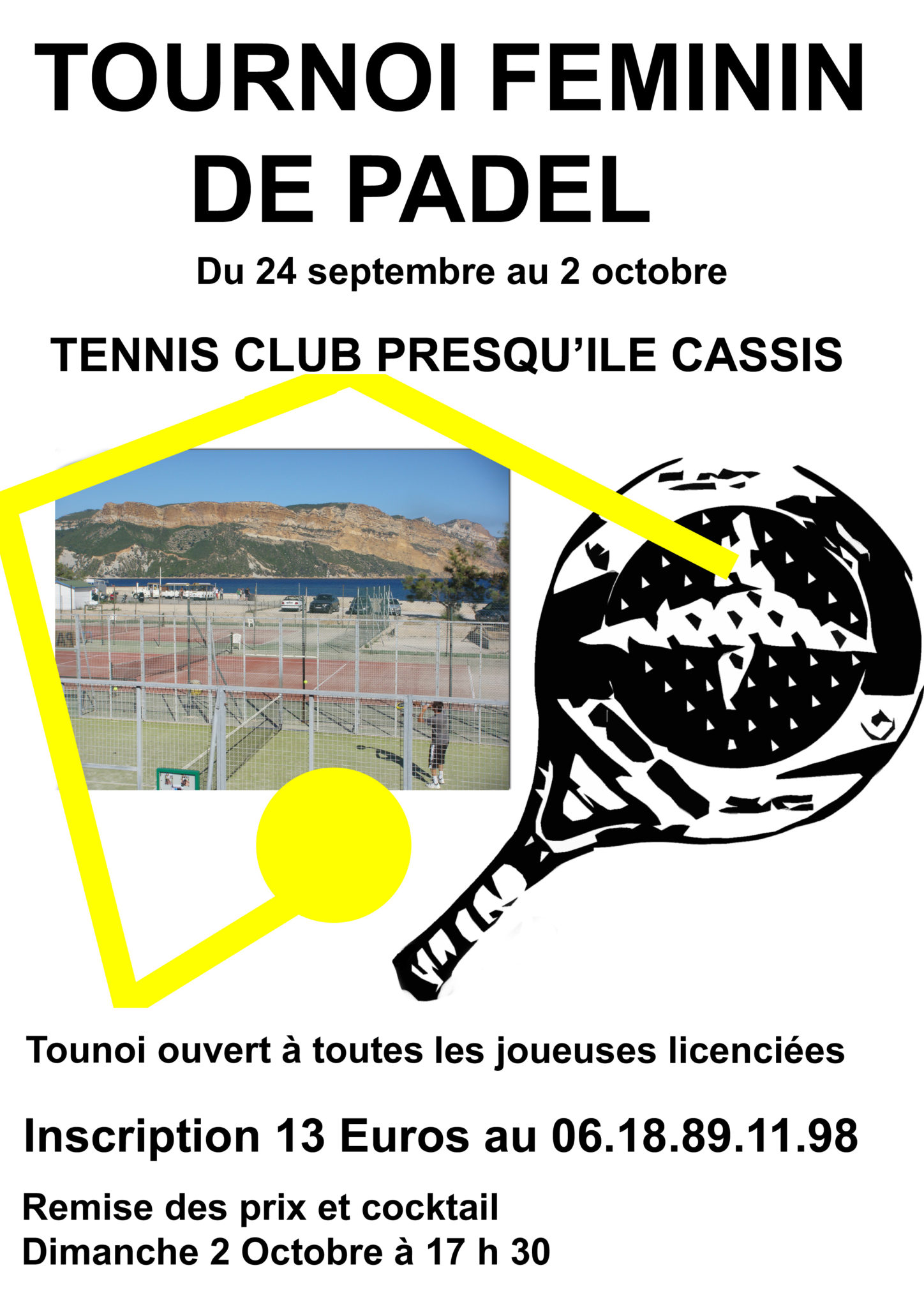 cartel del torneo