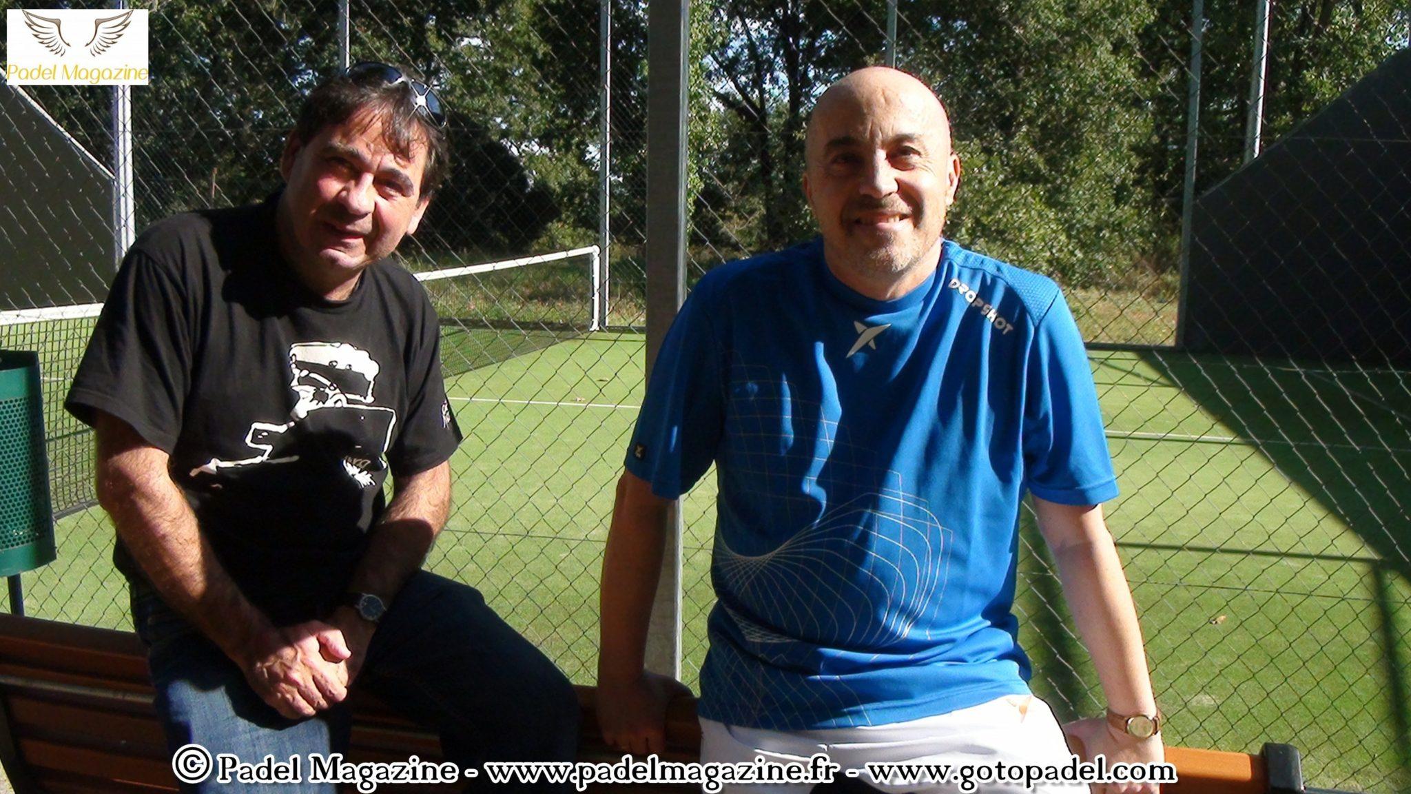 Interview de Fred Savin et Philippe Marsan : Paddle PLus