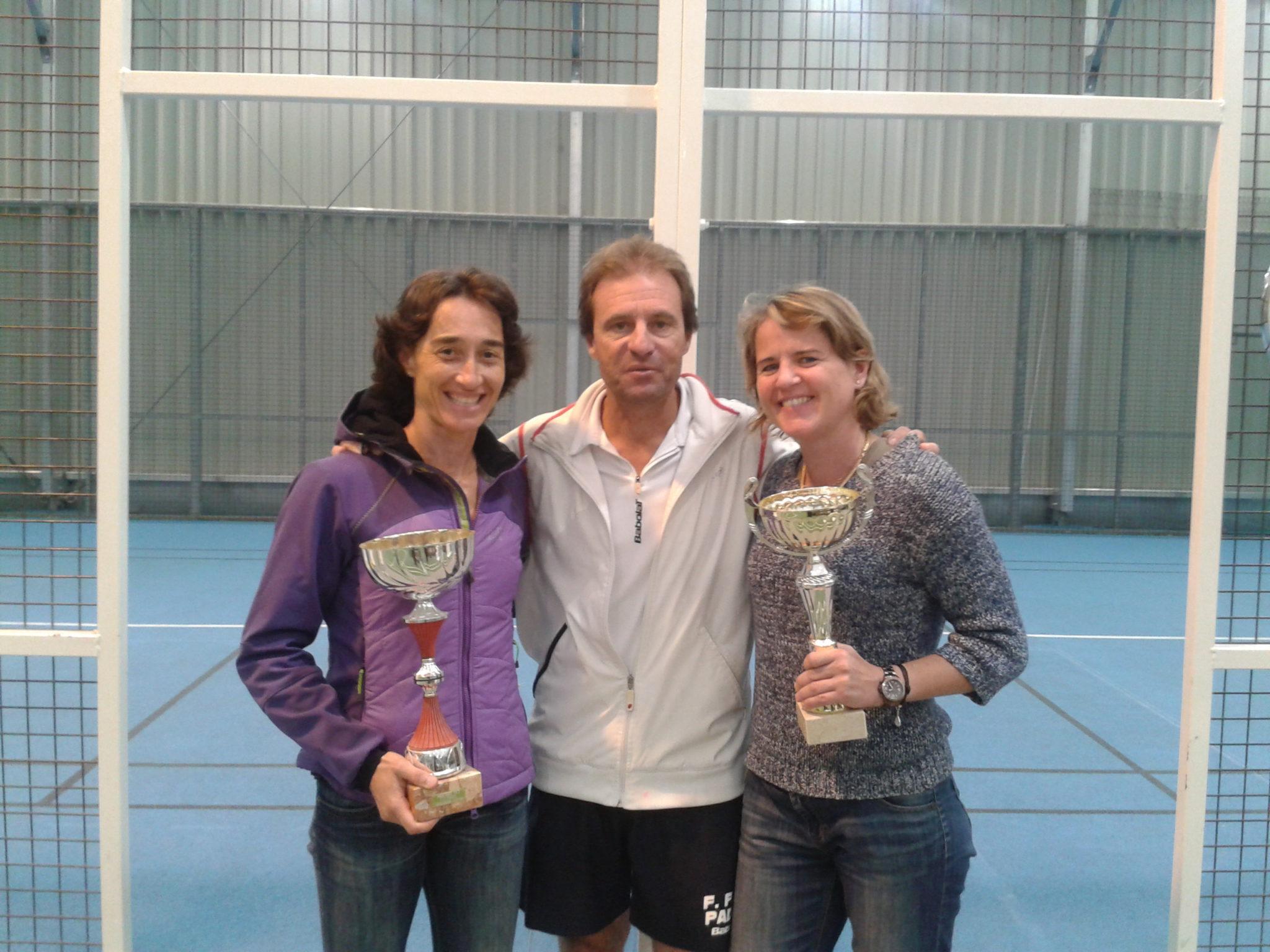 Les vainqueurs du master Féminin 2013