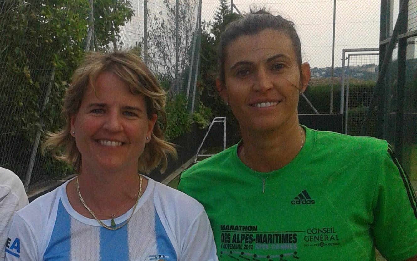 Kristina et Valérie à Nice puis à  Beausoleil