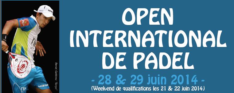 Open International de Padel au Set Club