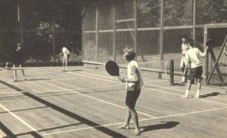 Franck Bear padlle tennis