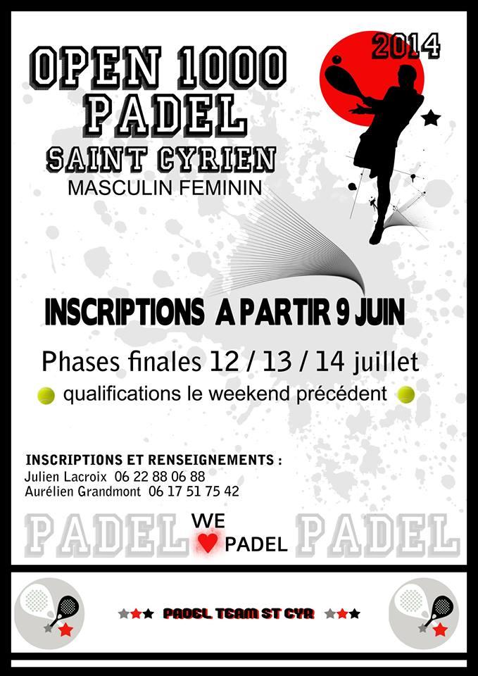 Torneo di paddle di St Cyr