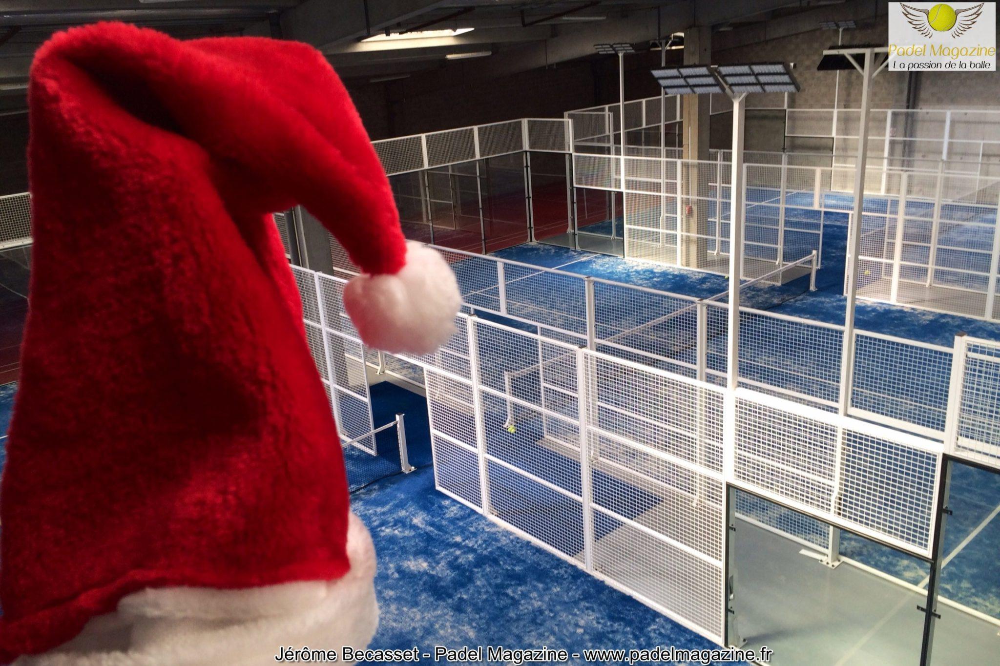 Triste Noël à Padel Central Lyon