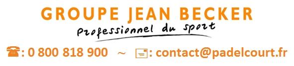 Coordonnées Padelcourt Groupe Jean Becker