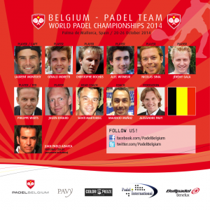 Padel Magazine Belgian national team