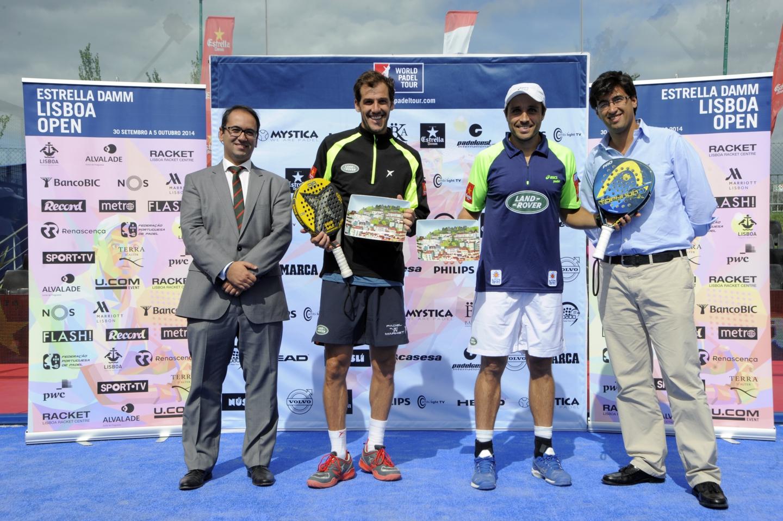 Bela et JMD remportent une nouvelle fois l'Open de Lisbonne