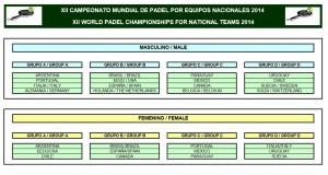 padel magazine bélgica empate campeonato mundial de padel palma de majorque