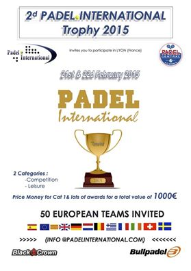 Padel International Trophy 2015