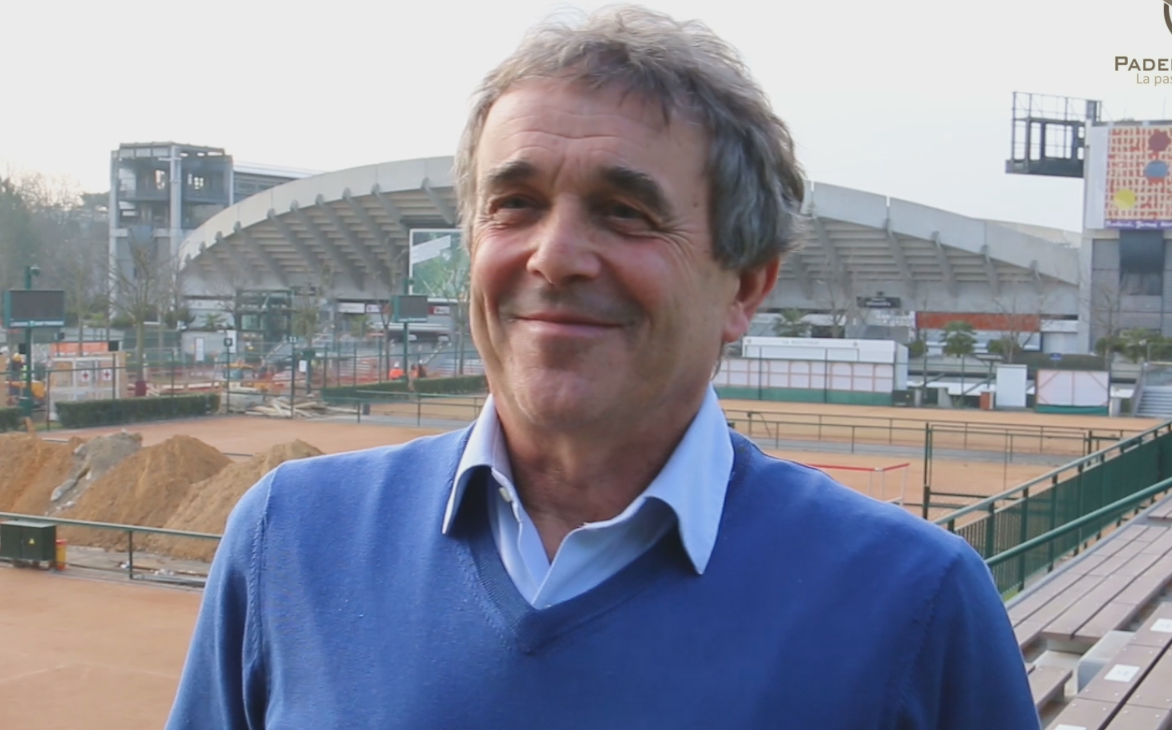 """Jean-Pierre Dartevelle : """"Le padel sera une discipline indépendante"""""""