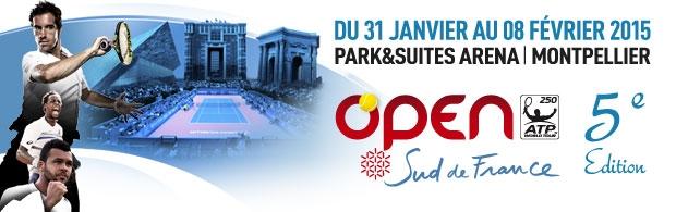 Du padel à l'Open Sud de France