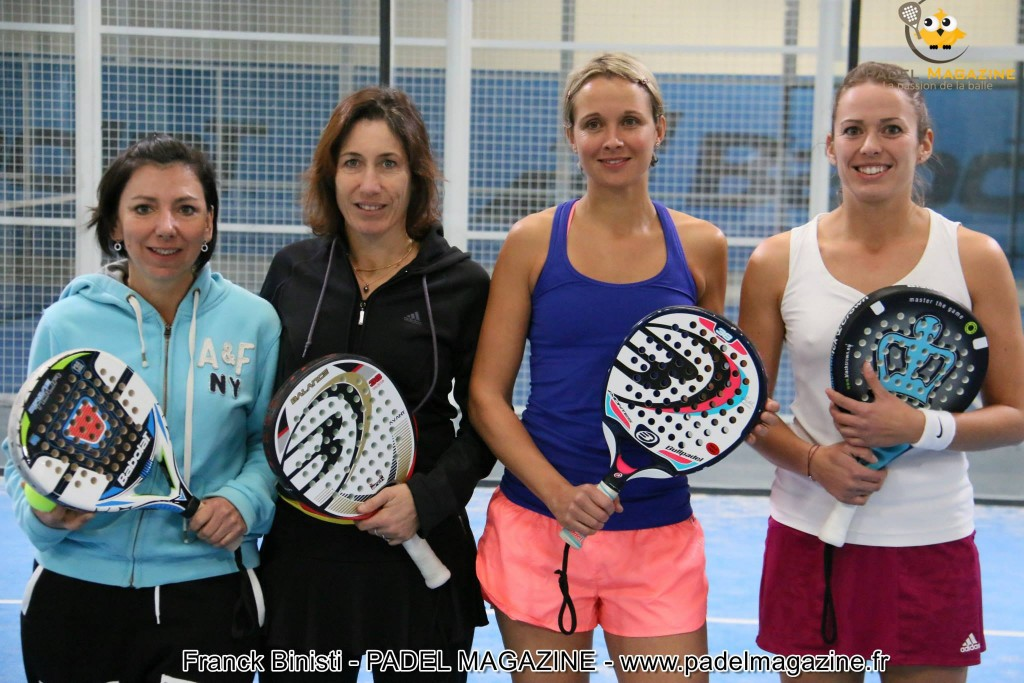 finalists tournament padel woman