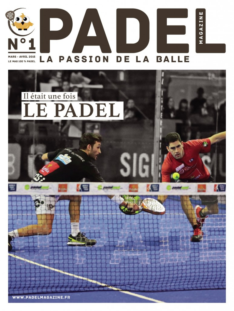 couverture padel magazine