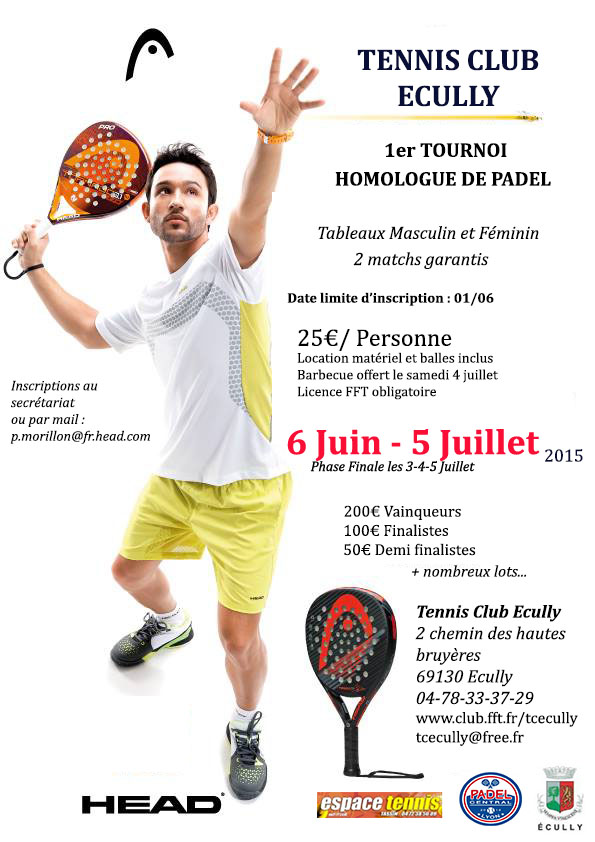 Ecuvilly padel tournament