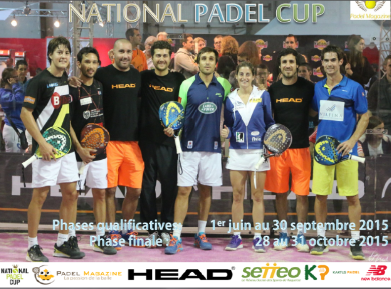 National Padel Cup Poster 2015