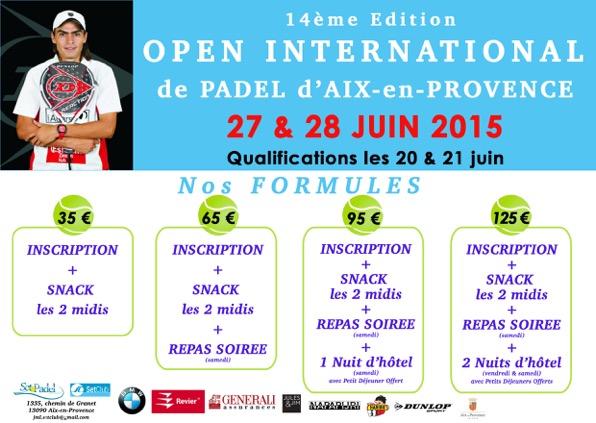 Open international de padel Aix en Provence