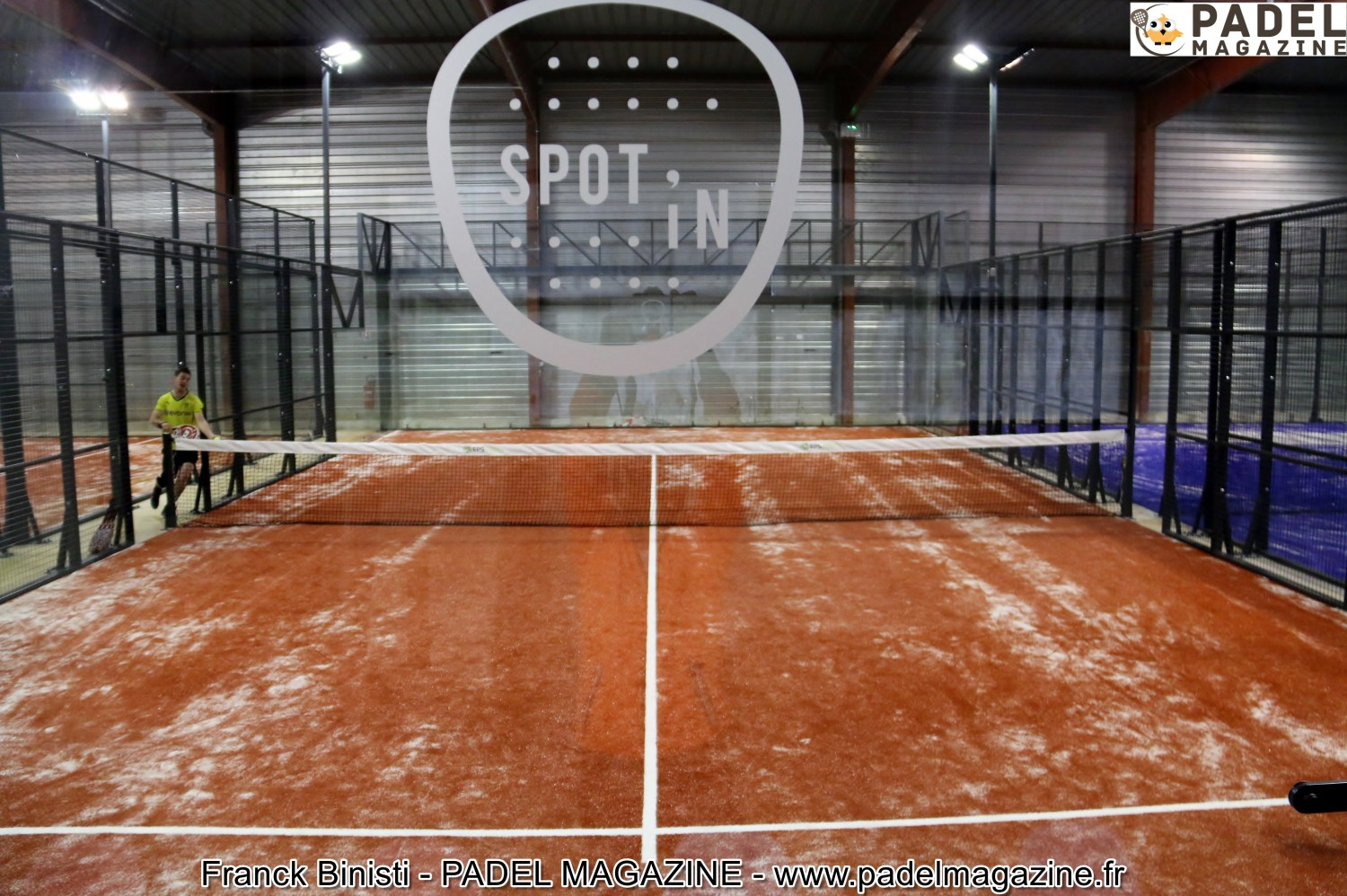 """the Spot'in: """"Rennes, the new destination padel"""""""