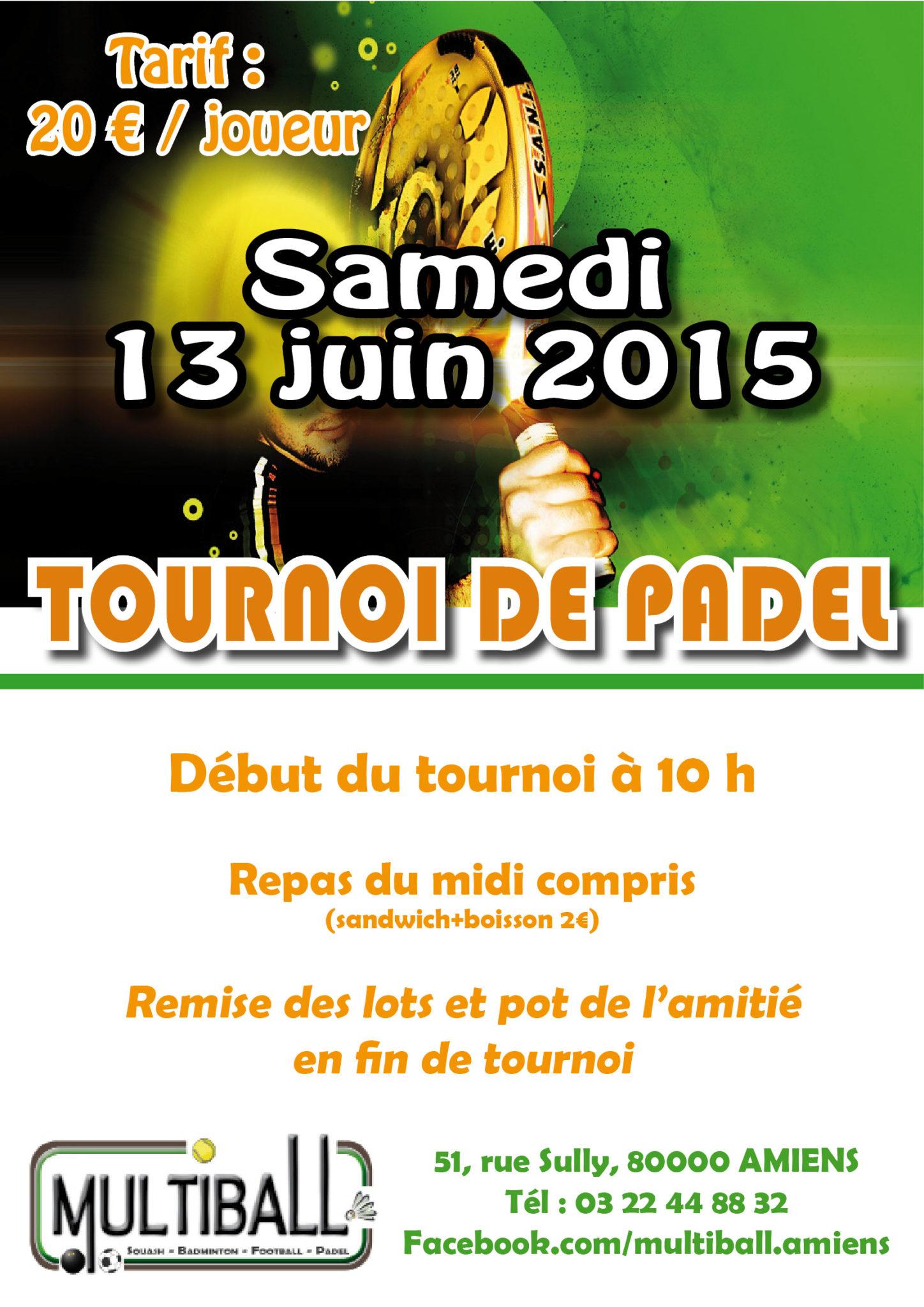 torneo di padel giugno 2015