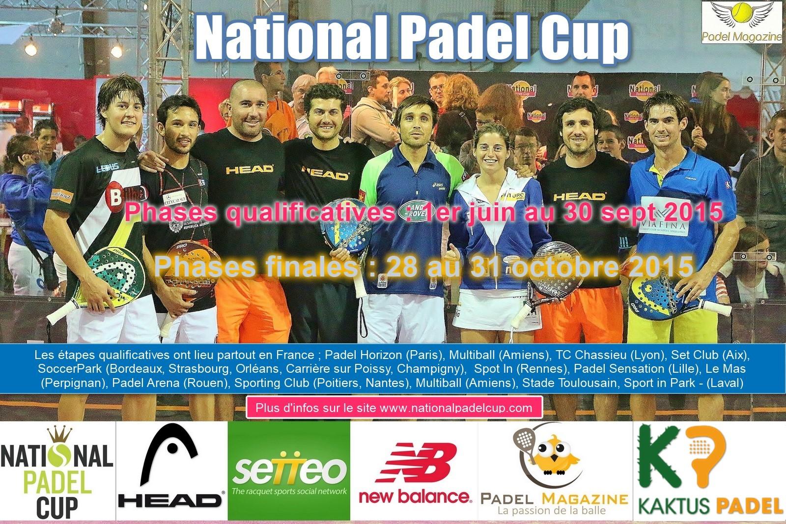 La National Padel Cup : OU et QUAND