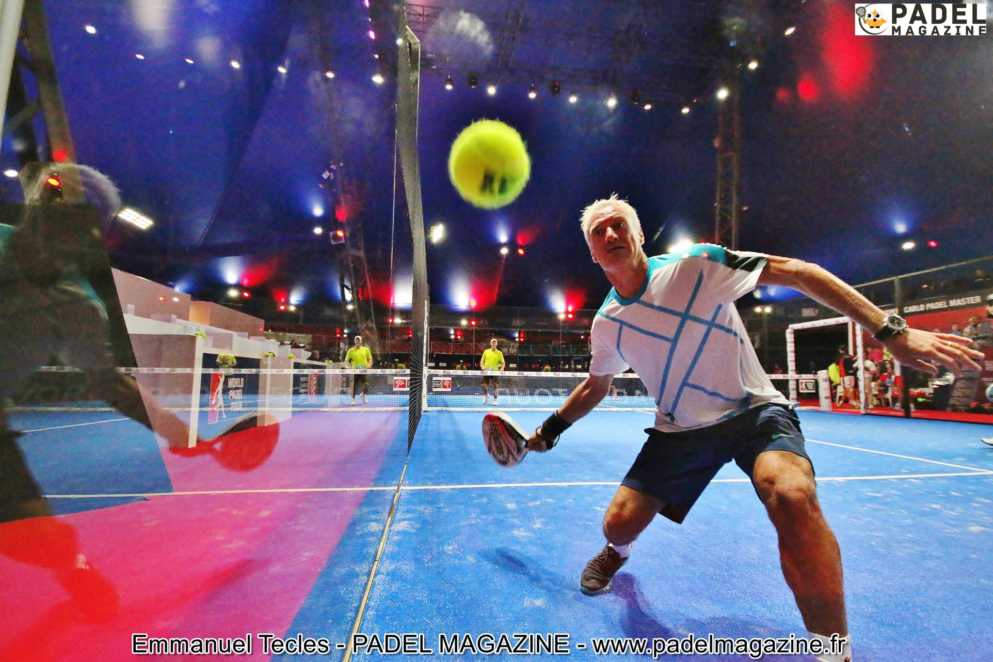 Didier Deschamps et sa passion : le PADEL