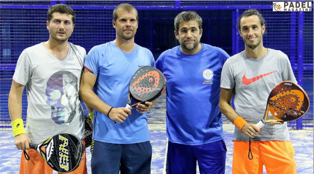 Garnier/Binisti remporte le tournoi de Padel Attitude