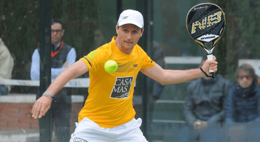 "Adrian Biglieri : ""Le padel un sport d'équipe"""