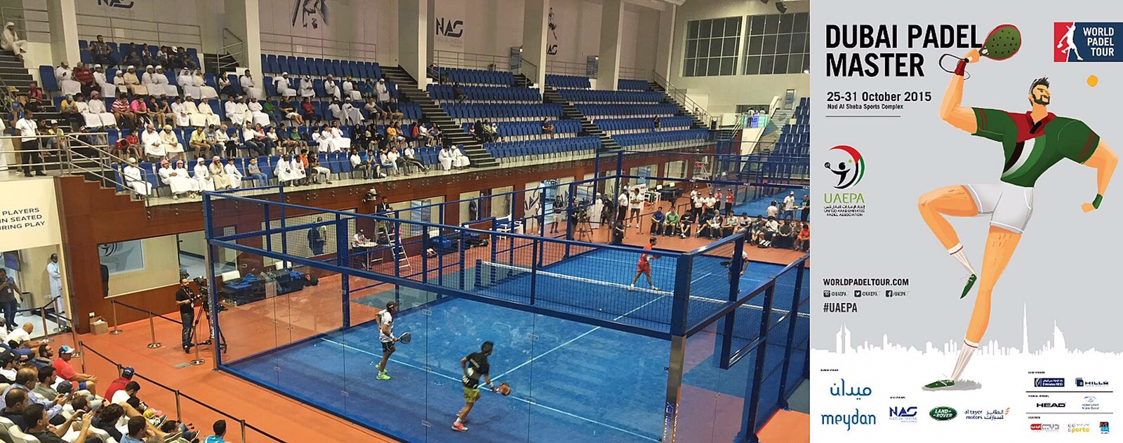 World Padel Tour à Dubaï – Novembre 2015
