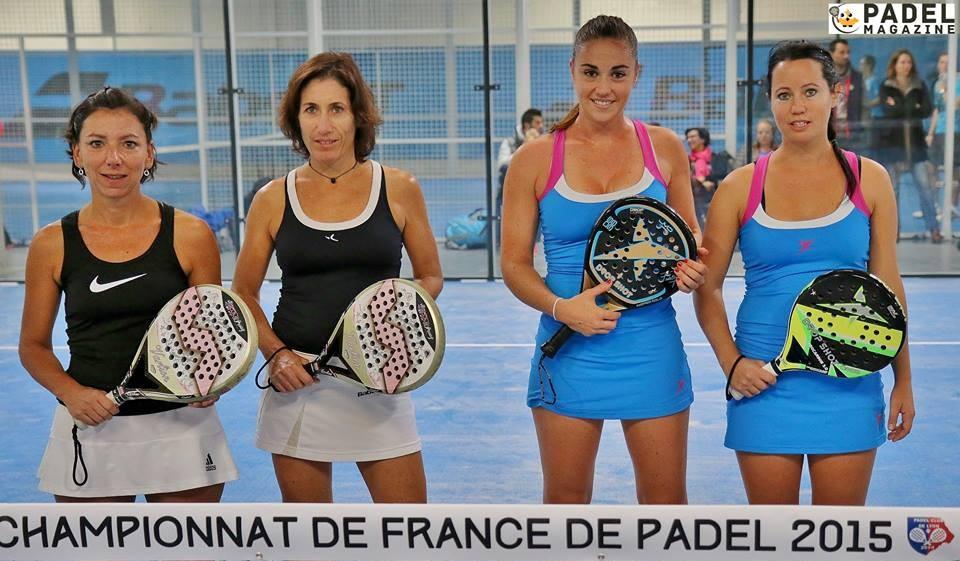 Finale Femme des championnats de France de padel : Ligue Provence Vs Ligue Côte d'Azur