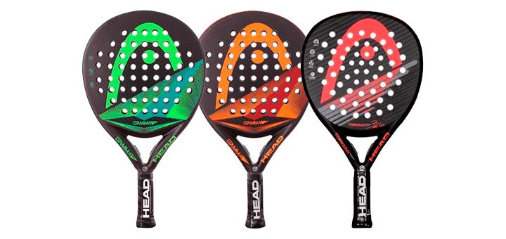 3 raquettes haut de gamme : HEAD graphène