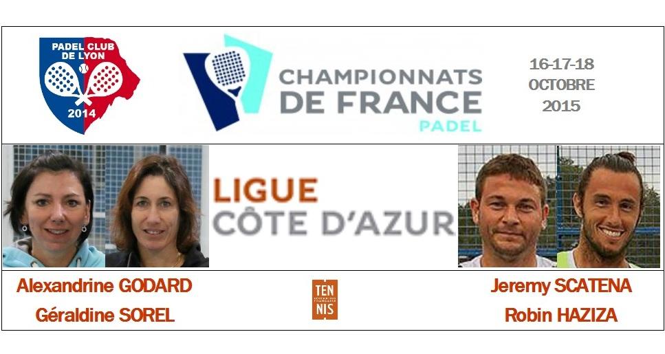 La ligue Côte d'Azur : Sorel / Godard et Scatena / Haziza