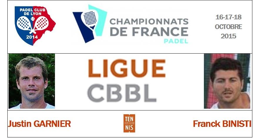 La ligue CBBL : Justin Garnier / Franck Binisti