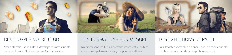 France Padel Presentazione professionale