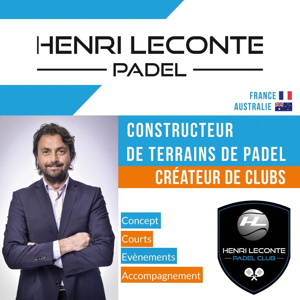 Henri Leconte Padel