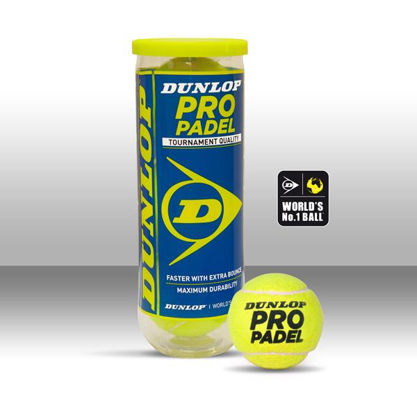 Les Balles Dunlop choisies pour les championnats d'Europe de padel 2015