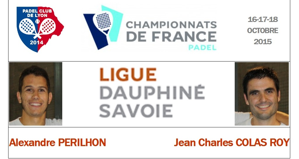 Ligue Dauphiné Savoie : Alexandre Perilhon / Jean-Charles Colas Roy
