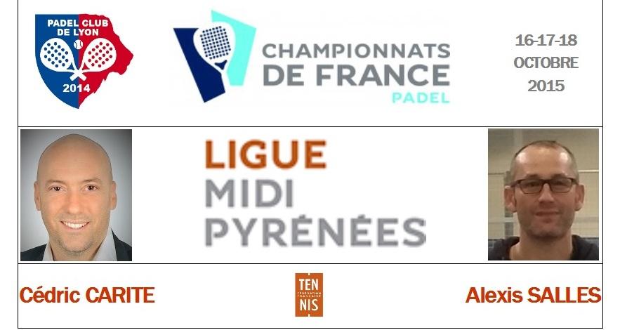 Ligue Midi-Pyrénées : Cédric Carité / Alexis Salles
