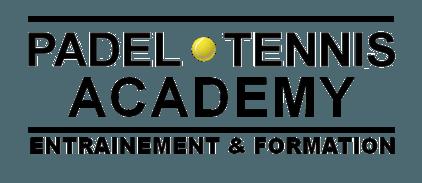 padel tennis academy logo