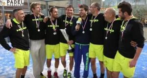 Champions d'europe de padel France 2015