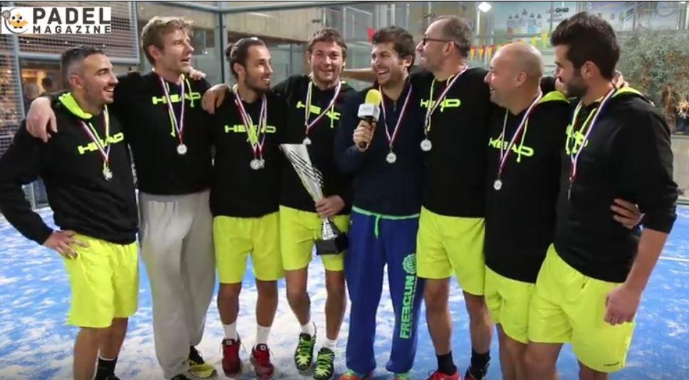 Les champions d'Europe de padel veulent atteindre le top 5 mondial