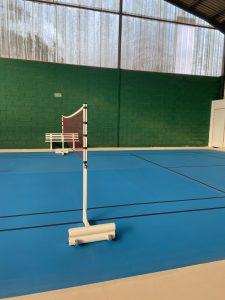 let padel badminton indoor