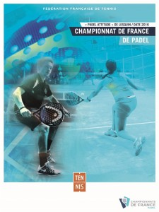 French Championship padel poster 2016