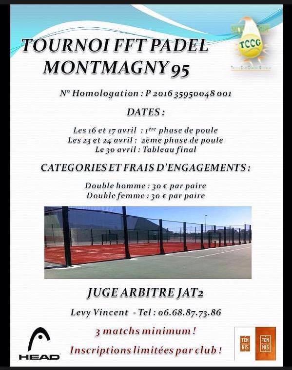 Tornei di paddle MONTMAGNY FFT