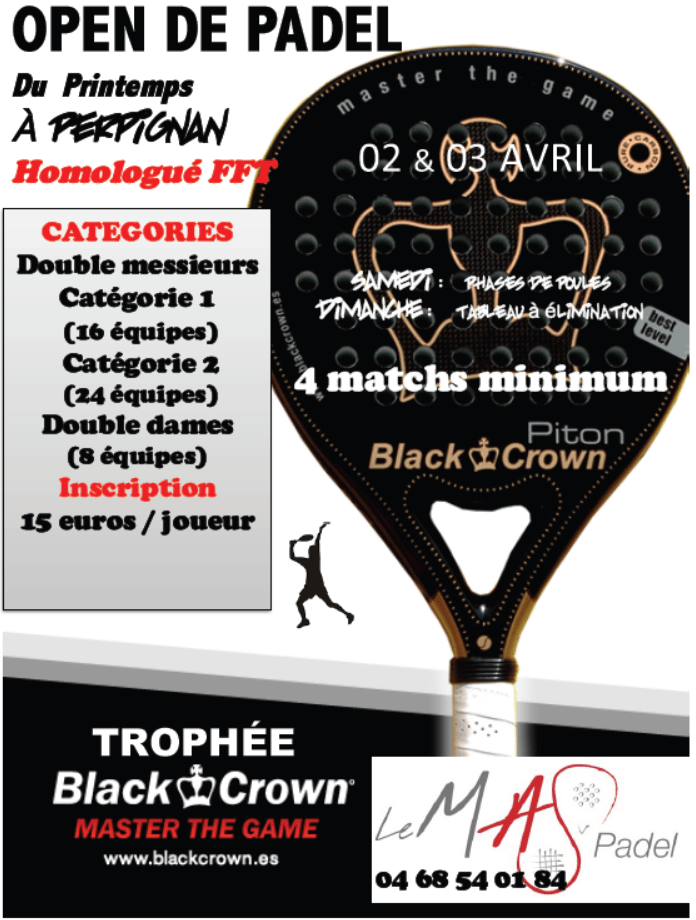 Turniej MA Paddle Blackcrown