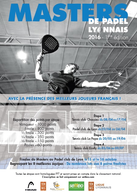 affiche masters