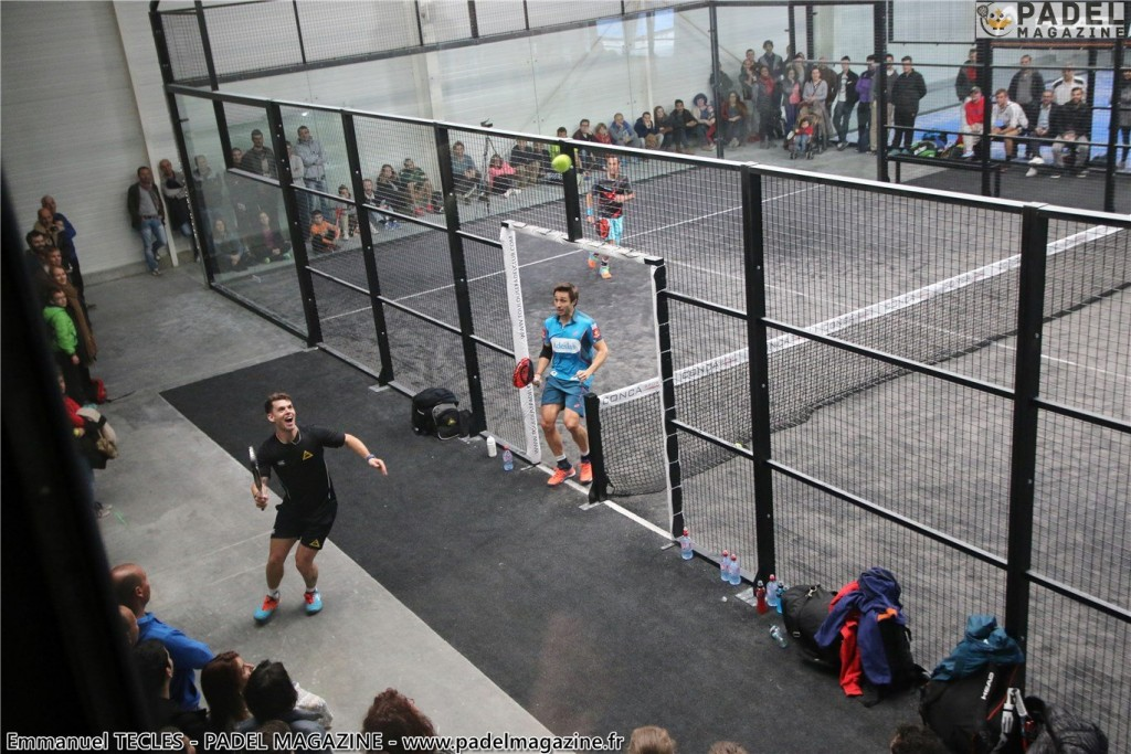 leave padel field