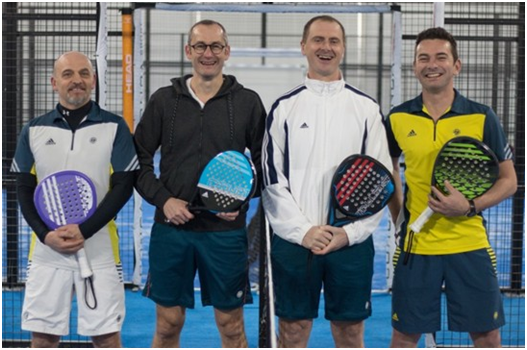 équipe all for padel