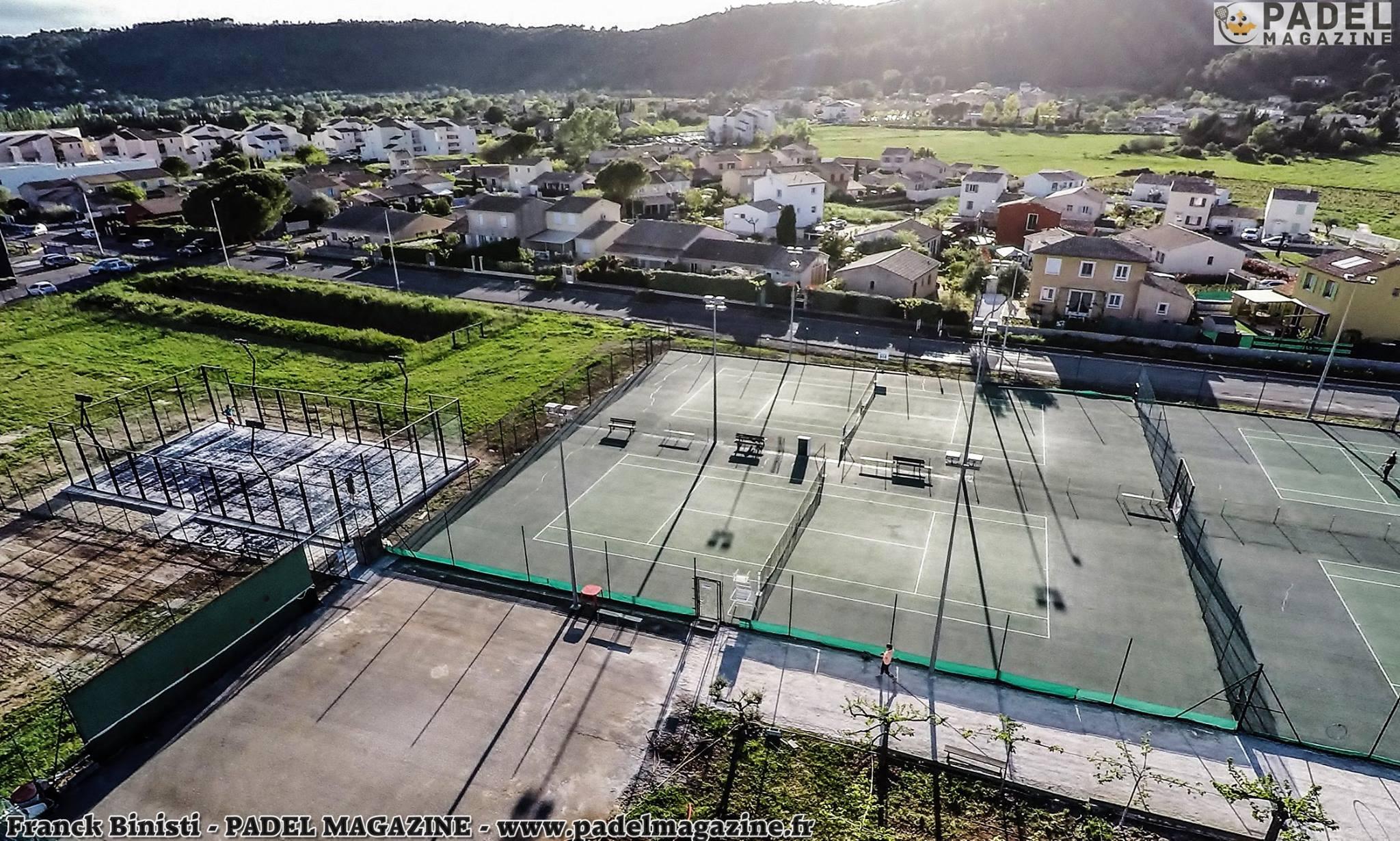Le Tennis Padel Luçois utilise AVANTAGE PADEL