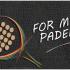 logo for my padel my padel tour